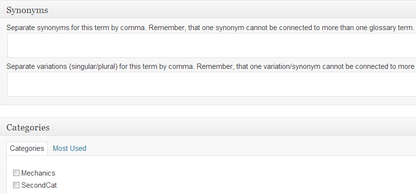 Highlight your Dictionary Terms with the WordPress Tooltips Plugin